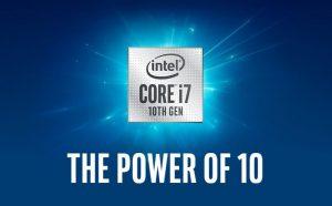 10. Generációs Intel processzor