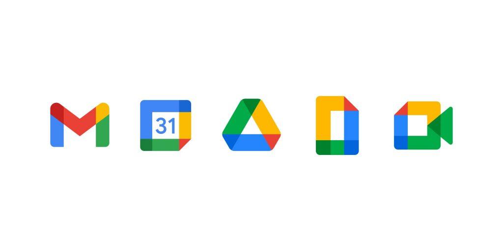 Google szolgáltatásokból kialakított Gmail logo