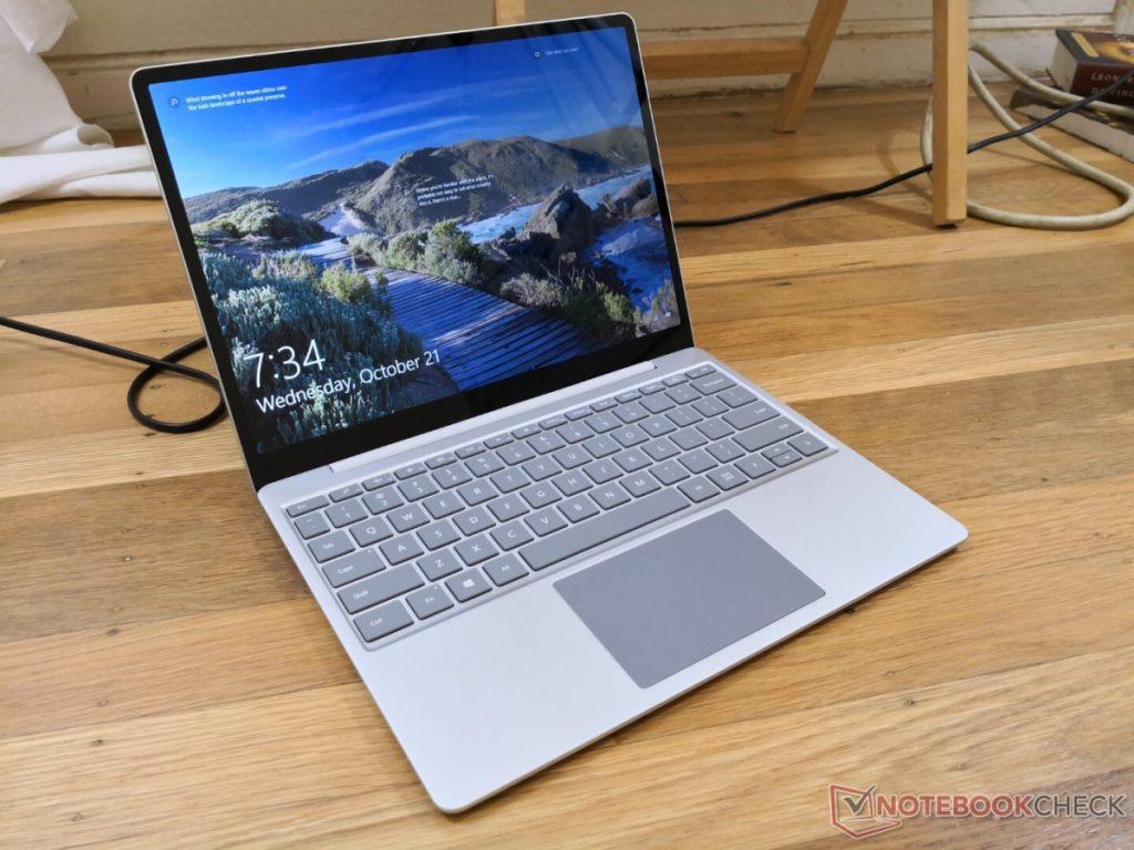 Microsoft Surface Go notebook