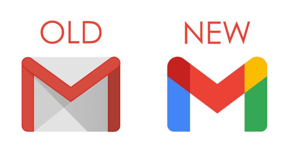 Régi és az új gmail logo