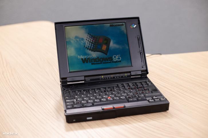 Win95 a Lenovo gépen