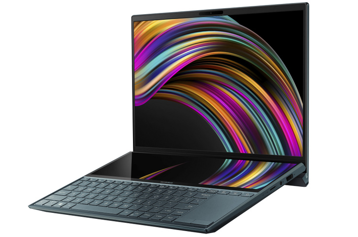 Asus Zenbook Duo notebook
